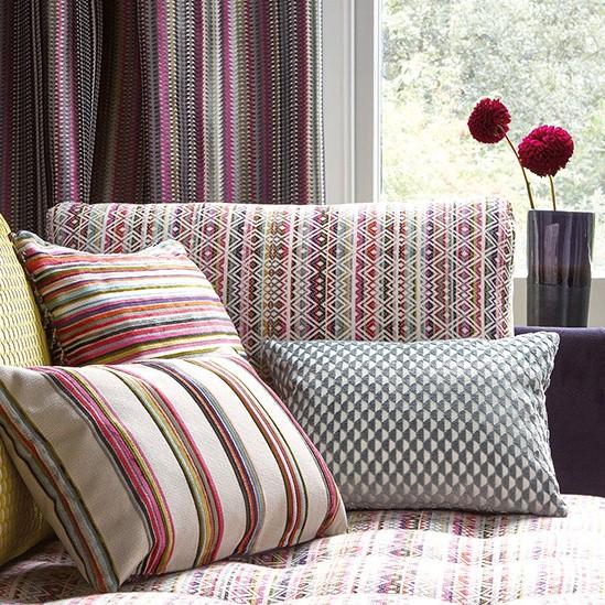 tissu cocota tissus par diteur romo le boudoir des. Black Bedroom Furniture Sets. Home Design Ideas