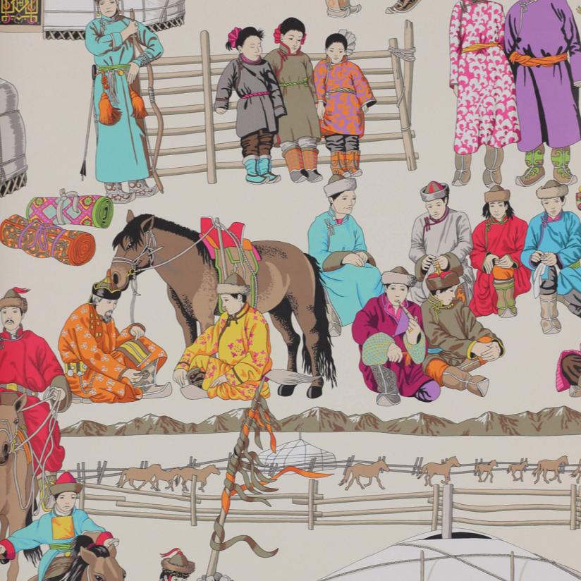 turquoise-hazara-canovas-papier peint