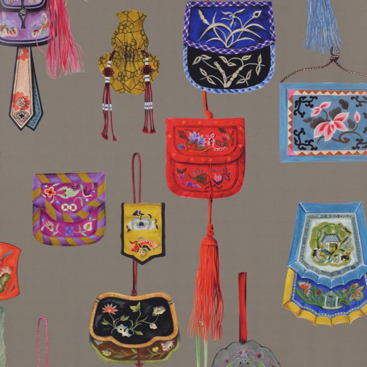 taupe-miao-papier peint-manuel canovas