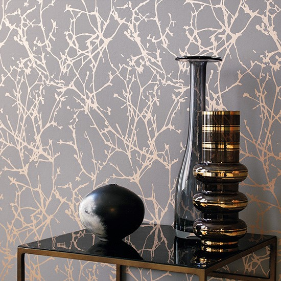 papier peint arbor papiers peints par diteurs romo le boudoir des etoffes. Black Bedroom Furniture Sets. Home Design Ideas