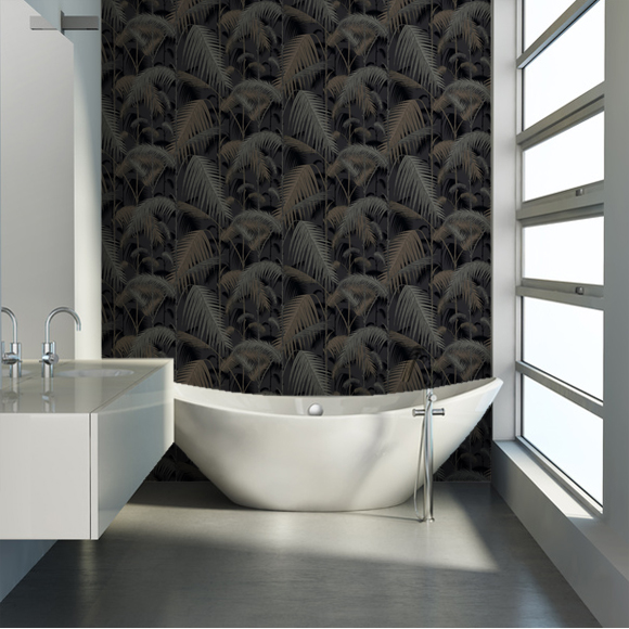 palm-jungle-idee-papier-peint-salle-de-bain