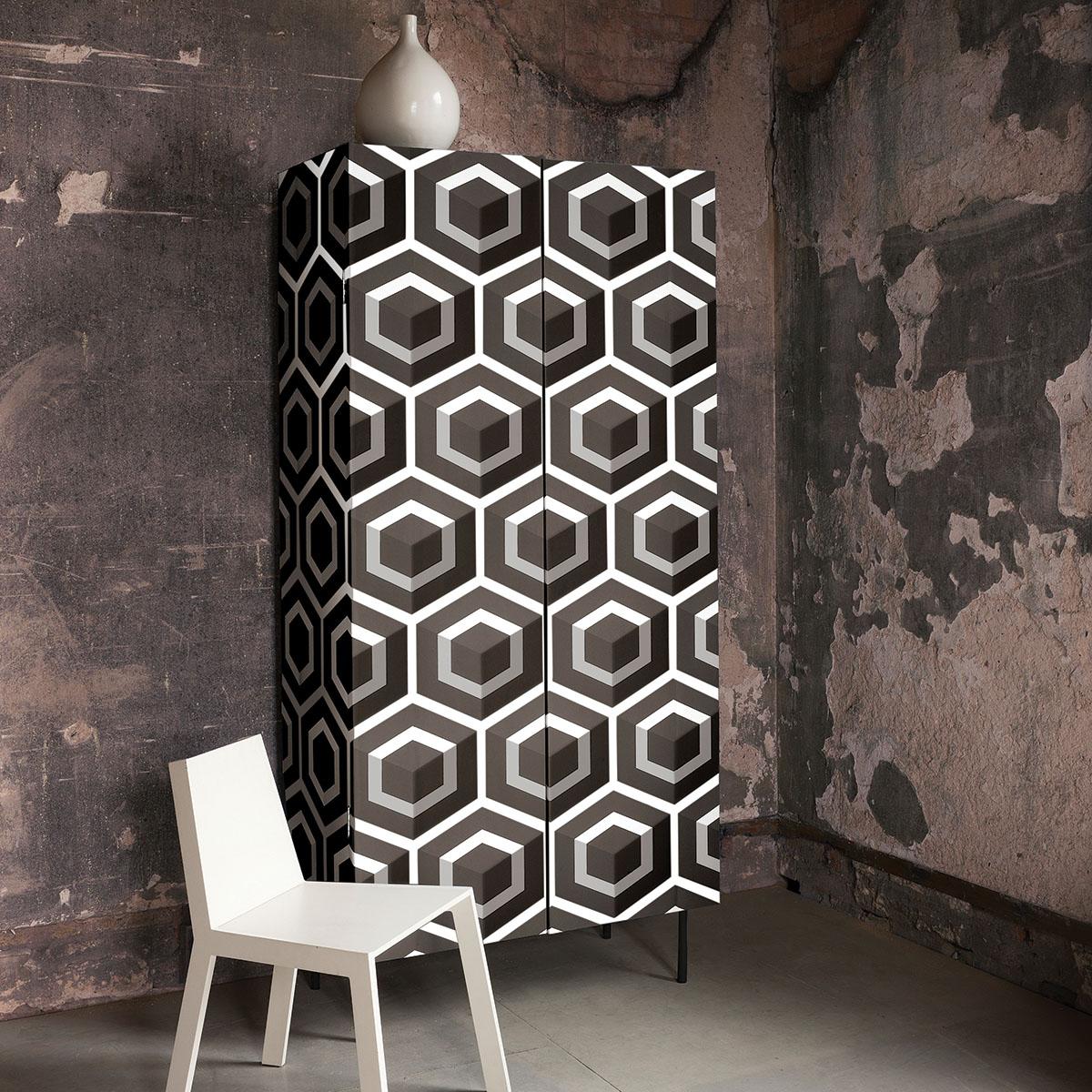 Papier Peint Hexagon Papiers Peints Par Editeurs Cole And Son Le