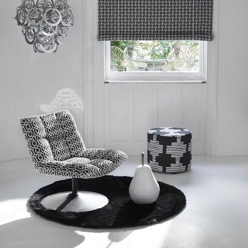 tissu-noir-blanc-geometrique-ethnique-decoration-siege