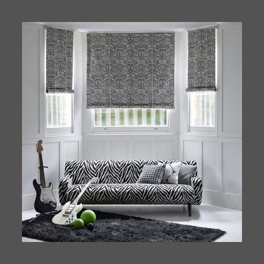 decoration-tissu-noir-blanc
