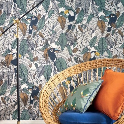 papier-peint-jungle-exotique-toucan-casamance-detail