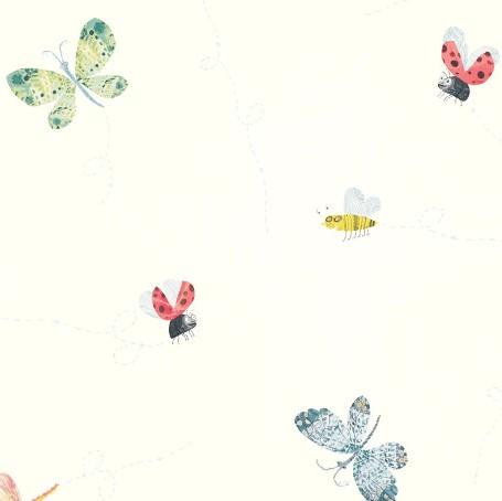 W561-01-papier-peint-enfant-insecte-papillons