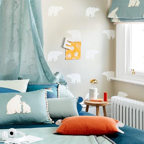papier-peint-enfant-ours-polaire