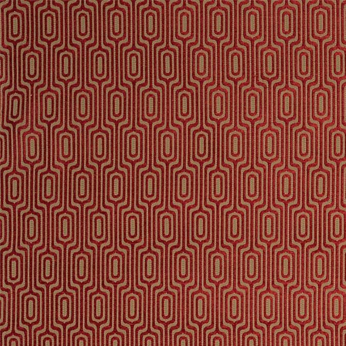 tissu-relief-graphique-siege-rouge