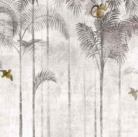 papier-peint-jungle-masureel-gris