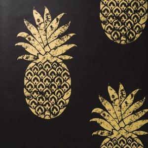 W0086-01-papier-peint-anana_or-dore-noir