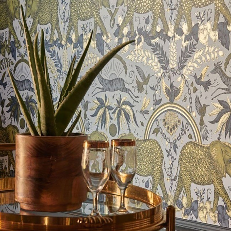 papier-peint-elephants-or-clarke-and-clarke