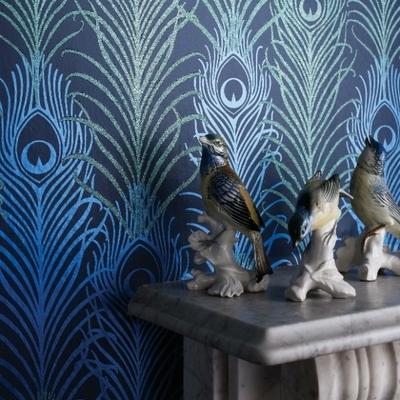 Papier peint Peacock