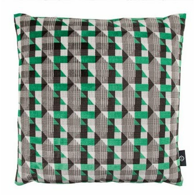 Coussin Piccadilly vert