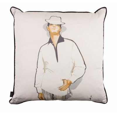 L'Homme Mysterieux coussin - Poser