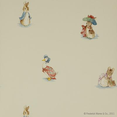 Papier peint Beatrix Potter