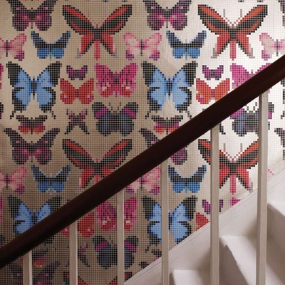 Papier peint Butterfly house