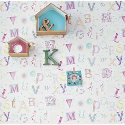 Papier peint Lettres