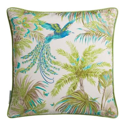 Coussin Bird of Paradise jade/kiwi 50X50