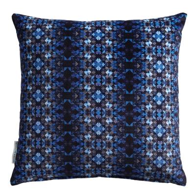 Coussin Mustique persian blue 50X50