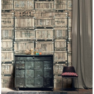 papier peint panoramique en transit papiers peints par diteurs casamance le boudoir des etoffes. Black Bedroom Furniture Sets. Home Design Ideas