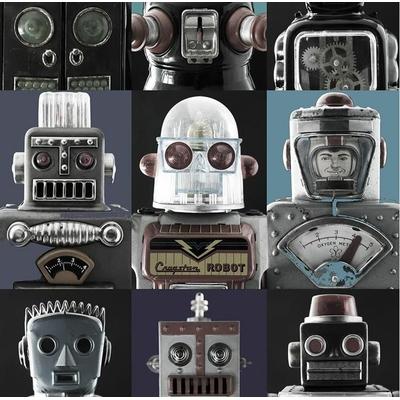 Papier peint panoramique Robots