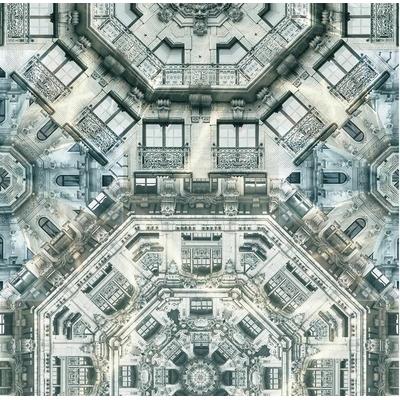 Papier peint panoramique Fièvre Haussmannienne
