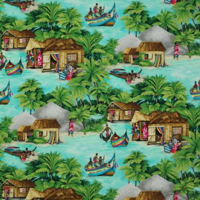 Tissu Bora Bora