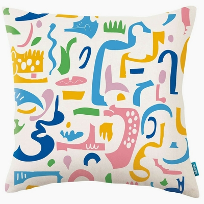 Coussin Paper Melodies Jelly Bean