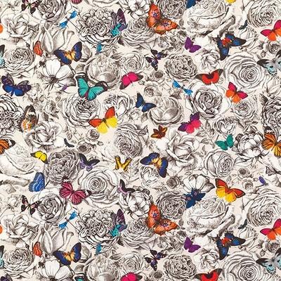 Tissu Butterfly garden