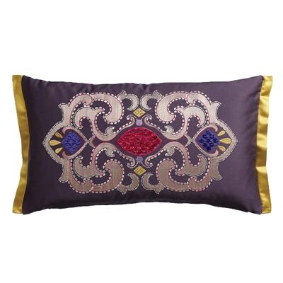 Coussin Empress violet 30X50