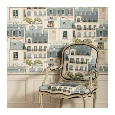 Tissu Les toits de Paris