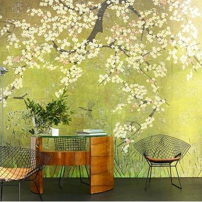 Papier peint panoramique Les cerisiers sauvages
