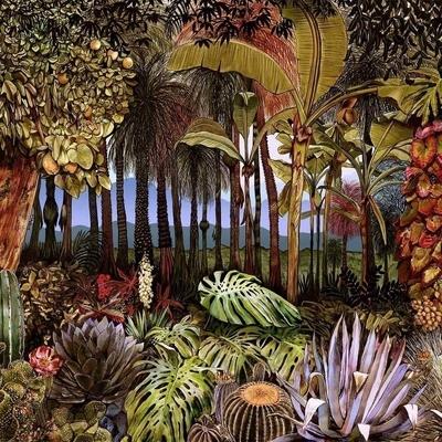 Papier peint panoramique Botànico