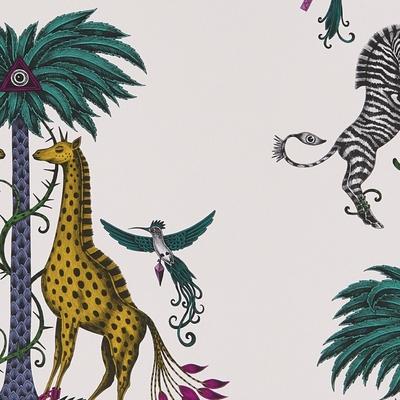 Papier peint girafes et zebres Creatura