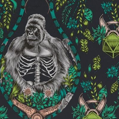 Papier peint gorille Silverback