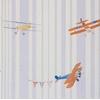 Abracadabra-collection-enfant-camengo-papier-peint-avion-acrobat-bleu