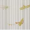 Abracadabra-collection-enfant-camengo-papier-peint-avion-acrobat-vert