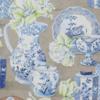 Papier peint canovas anvers bleu