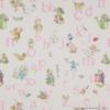 Jane Churchill - Alphabet beatrix potter - rose