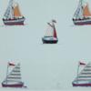 Jane Churchill - Sailing applique - blue