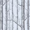 papier-peint-woods-arbre-cole-and-son-argent
