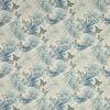 tissu-papillons-fleurs-exotique-bleu