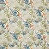 tissu-papillons-fleurs-exotique-bleu-vert