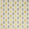 tissu-feuille-stylisee-jaune-alyssa
