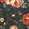 tissu-casamance-galante-orange-marine