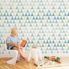 papier-peint-triangle-geometrique-enfant