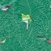 COS142-papier-panoramique-oisaux-tropical-vert