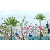 Neo-Tea-Garden-papier-peint-panoramique-exotique-bleu