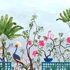 neo-tea-garden-papier-peint-fleuri-bleu