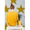 papier-peint-design-etoile-hollywood-moutarde